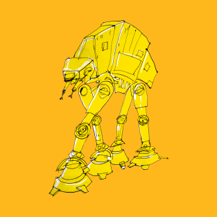 Best Foot forward AT-AT t-shirts