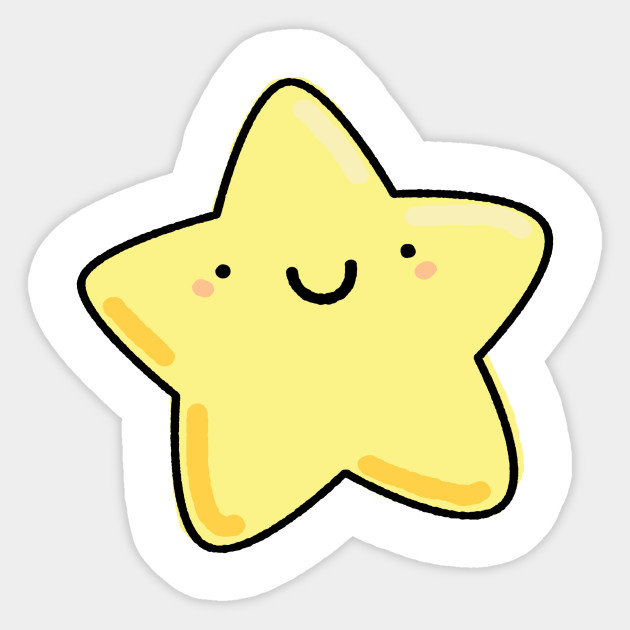Kawaii Star - Kawaii Star - Sticker | TeePublic