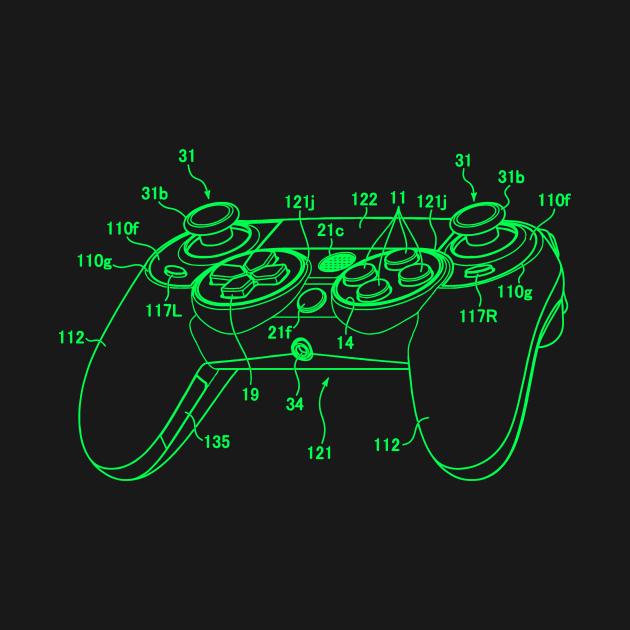 Gamer Controller Diagram