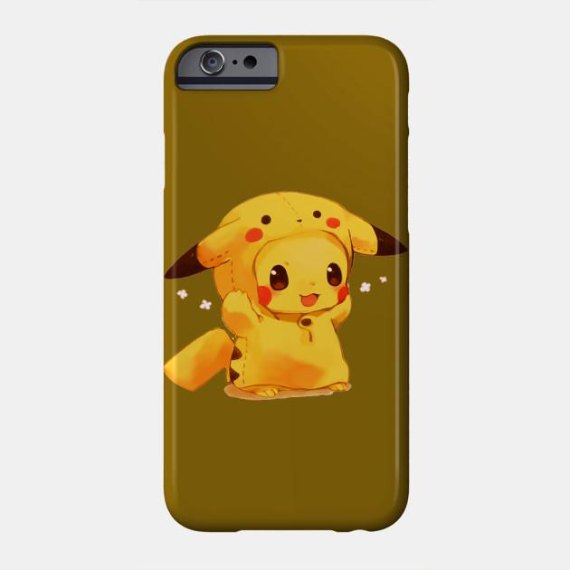 58f3d2221b Pikachu cute - Pikachu - Phone Case | TeePublic