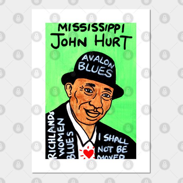 Canvas Mississippi John Hurt Art Print Poster