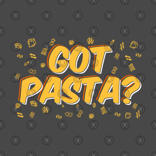 Pasta Food Lover Phrase Gift Idea