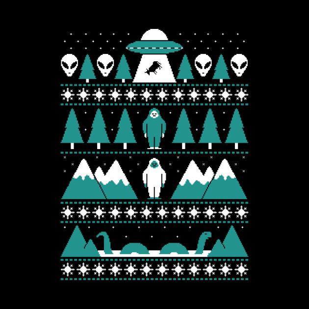 Paranormal Christmas Sweater