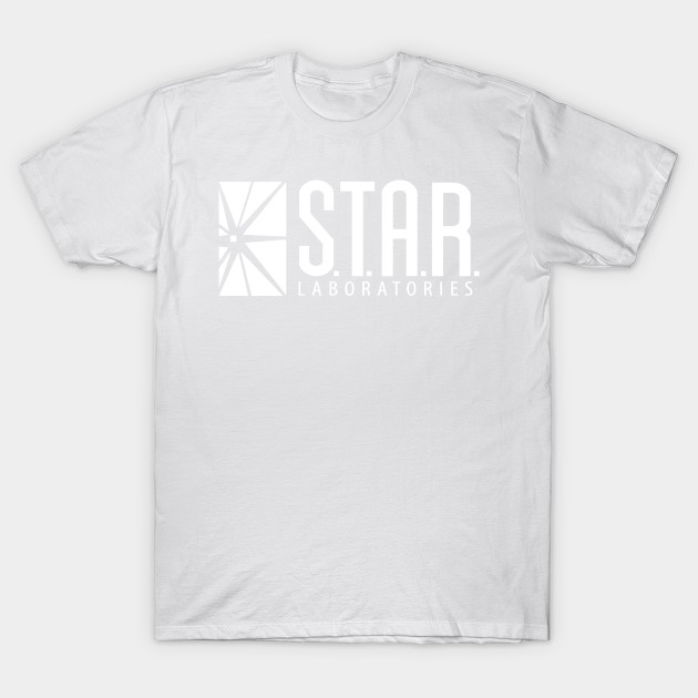 S.T.A.R.S. LABS (THE FLASH) black T-Shirt-TOZ