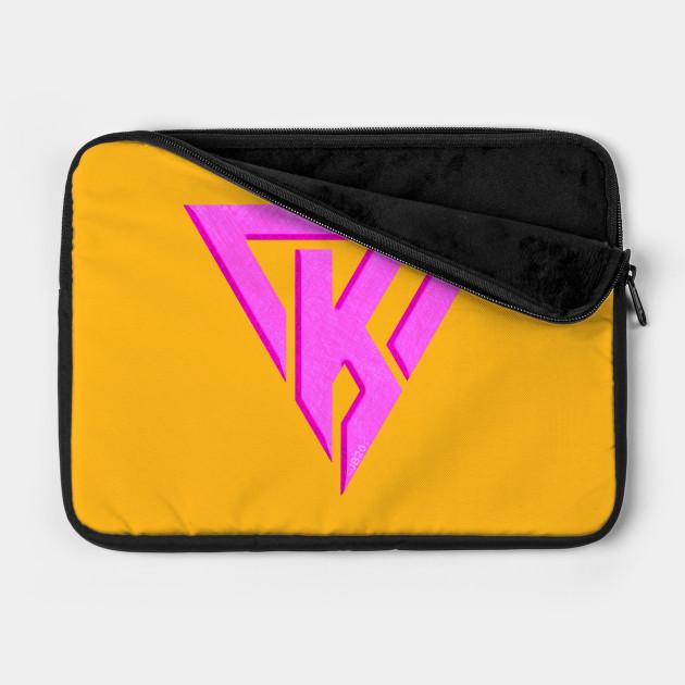 Hot pink K