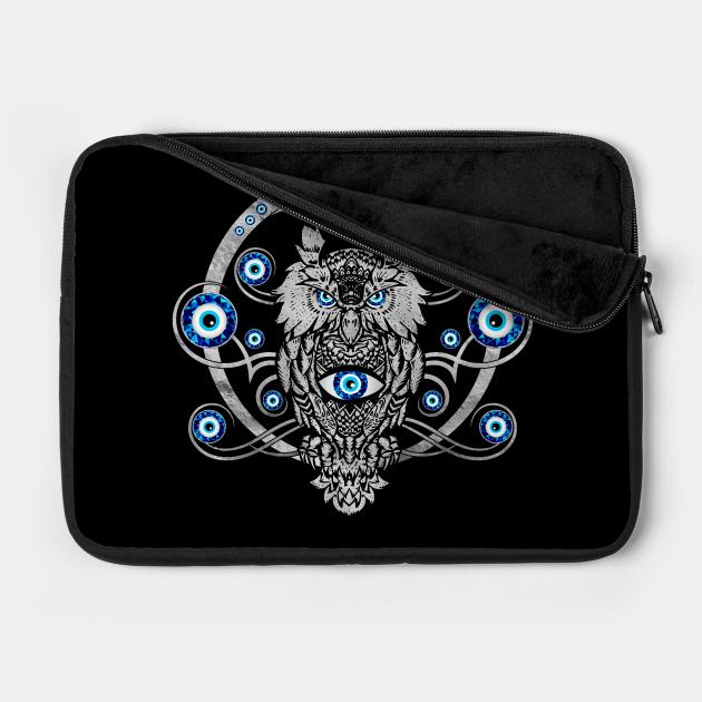 Owl Evil Eye Ornament