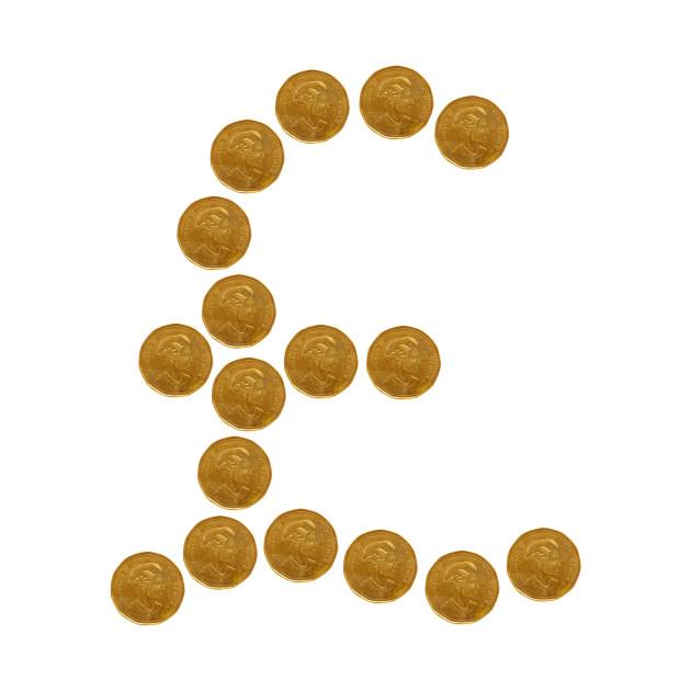 British Pound Sign Symbol Pounds Pillow Teepublic