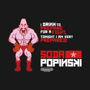 Soda Popinski Quote t-shirts