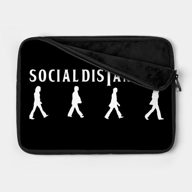 social distancing beatles