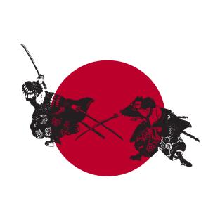 Samurai Warrior t-shirts