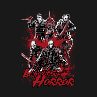 Legends of Horror t-shirts
