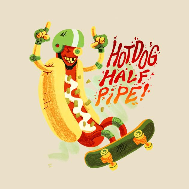 Hot Dog Halfpipe
