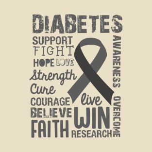 Diabetes Awareness t-shirts