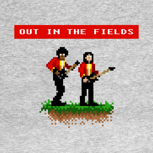 Gary & Phil Out In The Fields