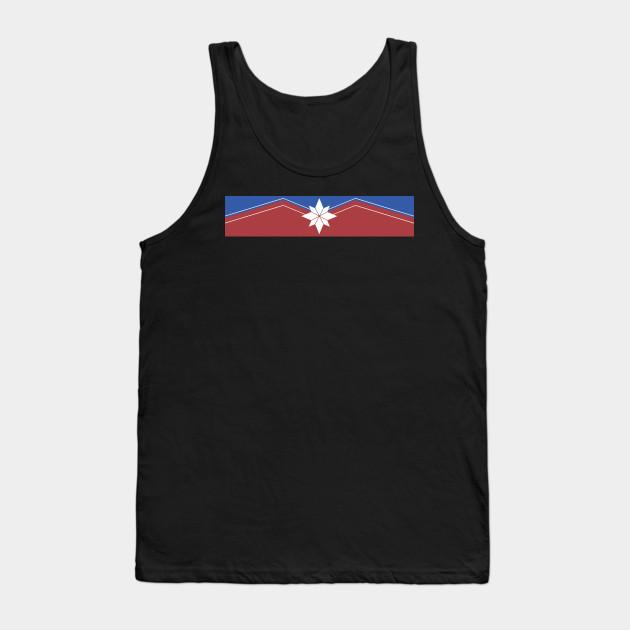859622b1d0a733 Captain Marvel emblem - Captain Marvel - Tank Top