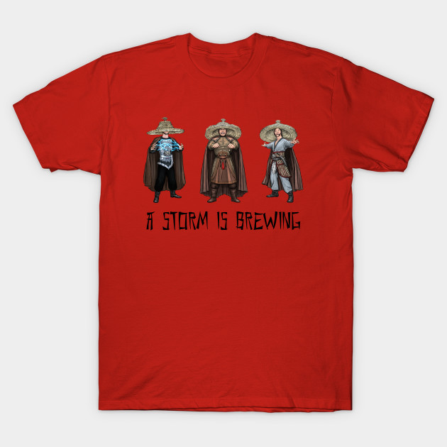 Inspired by the 1986 film Big Trouble in Little China THREE STORMS Sweatshirt