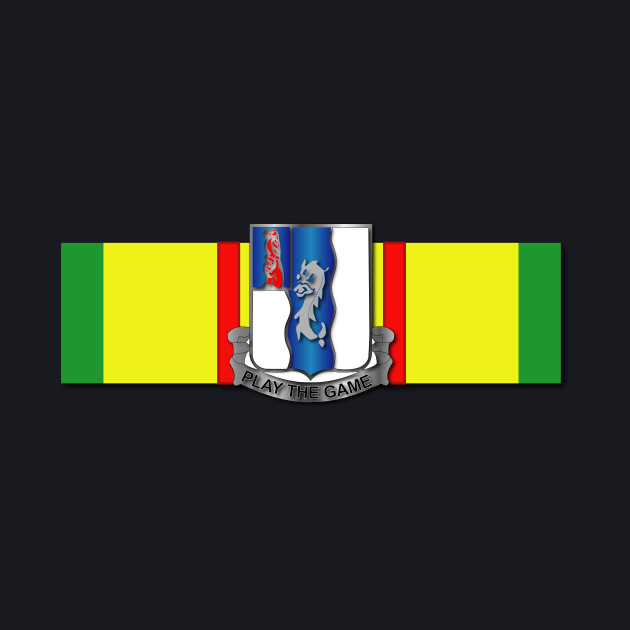 Ribbon - Vietnam - VCM -  50th Infantry (Mechanized)