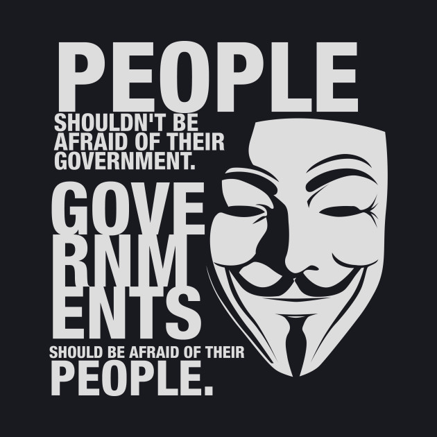 Anonymous Shirt Guy Fawkes Mask