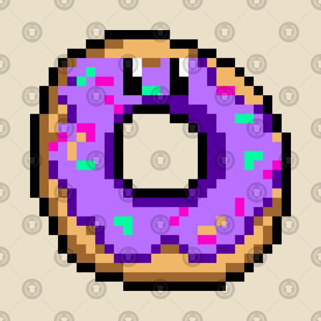 Pixel Donut