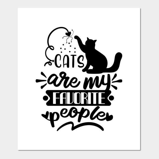 Pet Lover Cats Furry Friend Kittens Art Print Poster