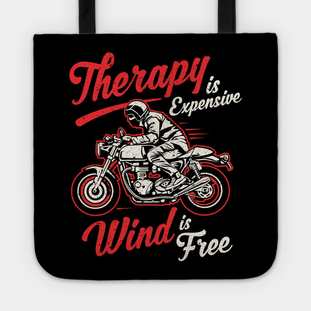 Funny Biker Quotes Motorcycle Rider Saying Motorcycle Tote