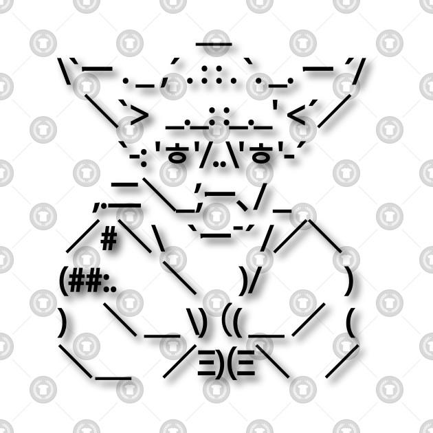 ASCII Yoda