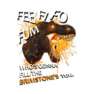 Brimstone Merch t-shirts