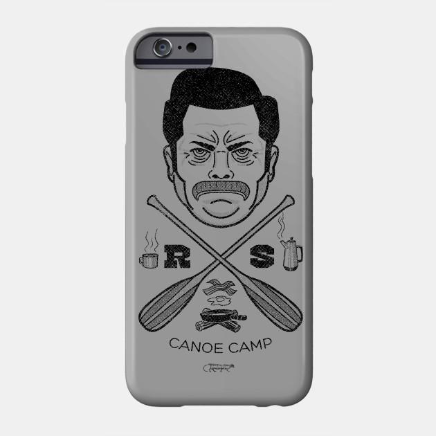 Ron Swanson Canoe Camp