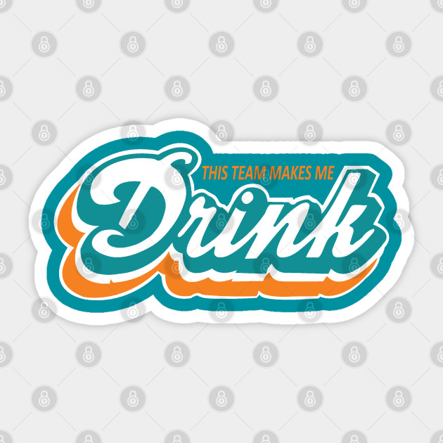 Miami Fan Heat Marlins Dolphins Panthers Vinyl Sticker Decal