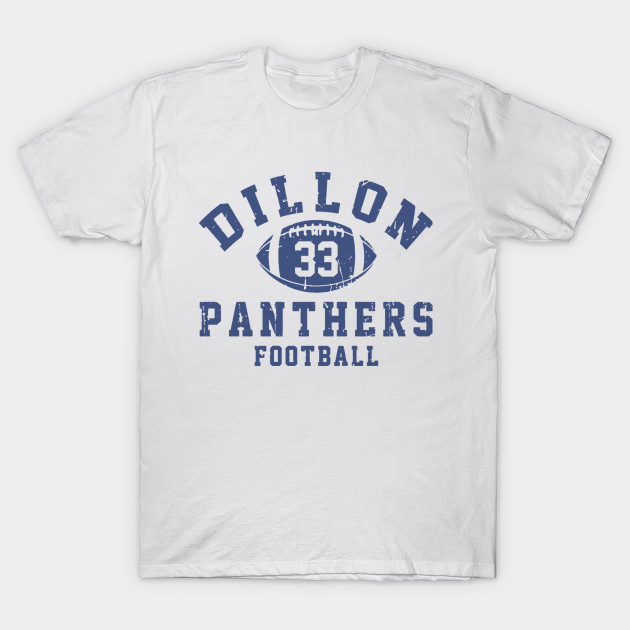 Dillon Panthers Football T-Shirt-TOZ