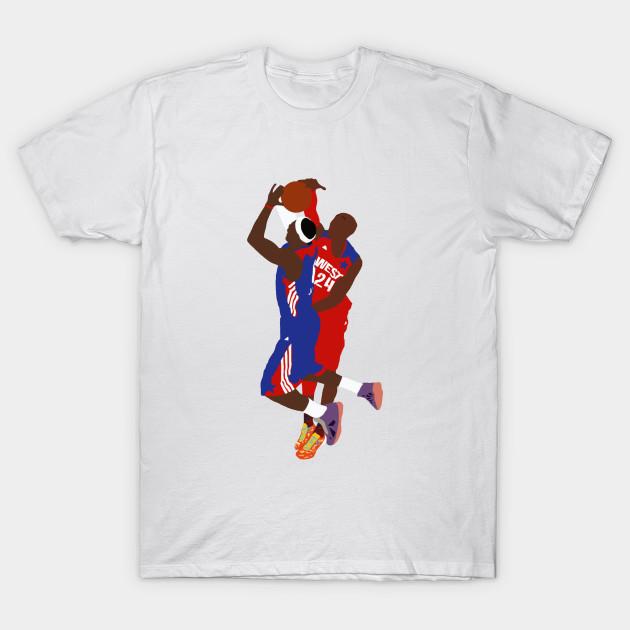 368a876b164 Kobe Bryant Block On LeBron James - Kobe Bryant - T-Shirt