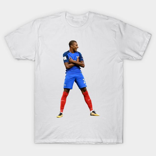 0d9c7e300 A Best Poster Kylian Young Football Player National Team France PSG Paris  Saint Mbappe Art Print T-Shirt