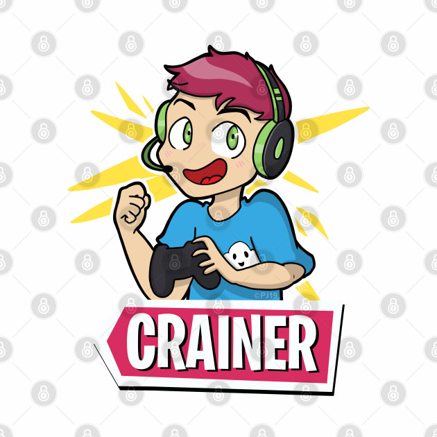 Cartoon Crainer with Logo