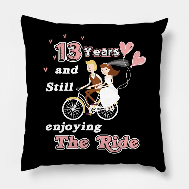 Perfect 13 Years Wedding Anniversary Gift For Matching Couple This