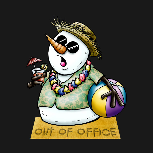 Hawaiian Snowman