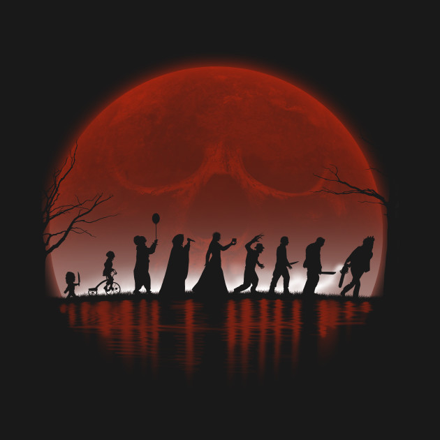 The Fellowship Of The Horror T-Shirt