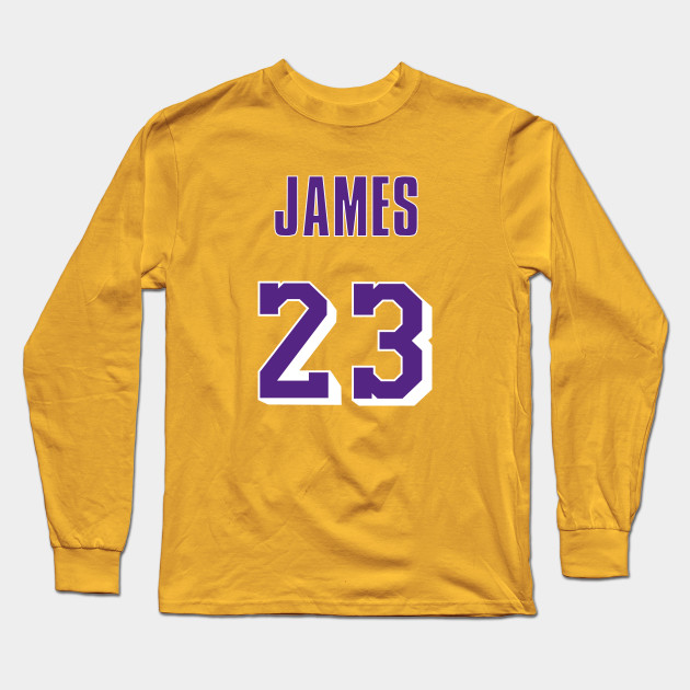 pretty nice 6e397 b1fac LeBron James Throwback Lakers Jersey 1