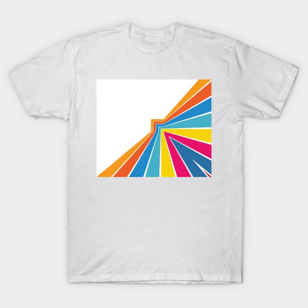 Rainbow Abstract Art