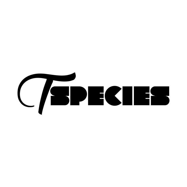 TSpecies Shirt Design Black
