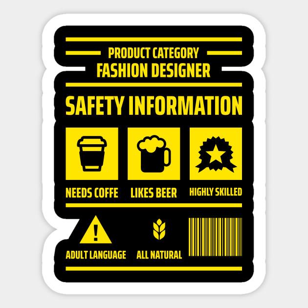 Product Category Fashion Designer Product Category Fashion Designer Sticker Teepublic