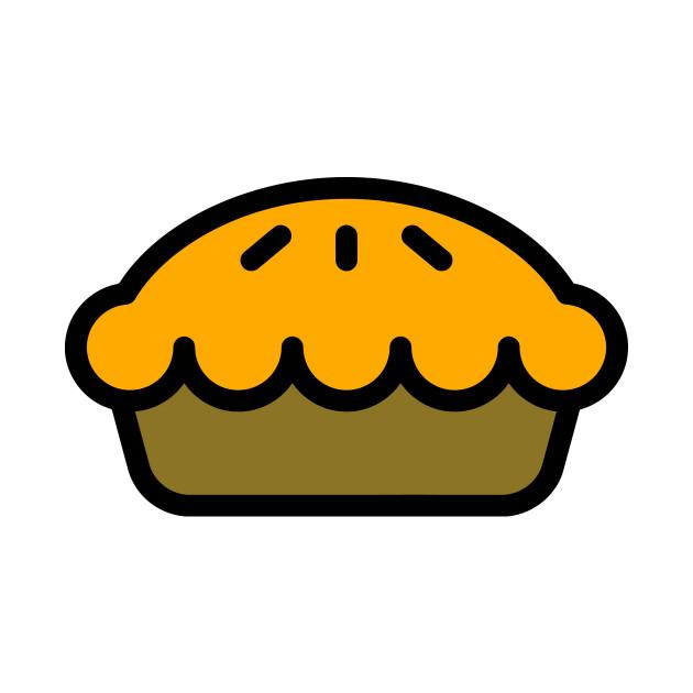 Apple Pie Cartoon Icon - Apple Pie - Tapestry | TeePublic