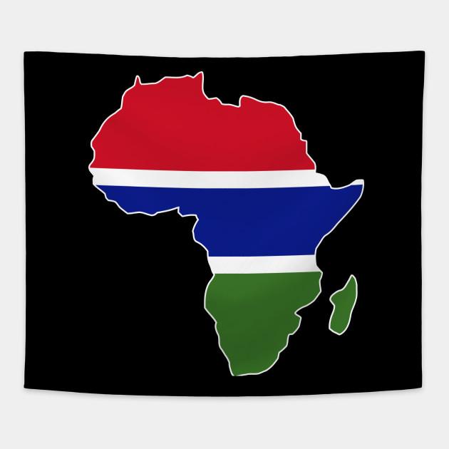 df03703916445 Gambian pride Gambia flag Africa map