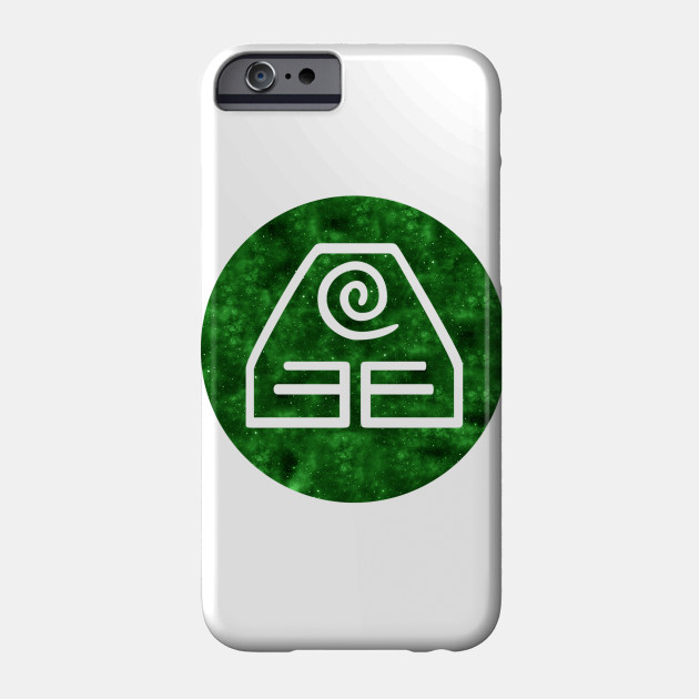 Avatar: The Last Airbender - Earth Symbol (Galaxy Design) Phone Case