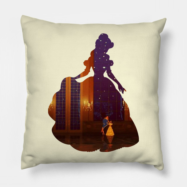 For Who Could Ever Learn To Love A Beast Belle Pillow Teepublic