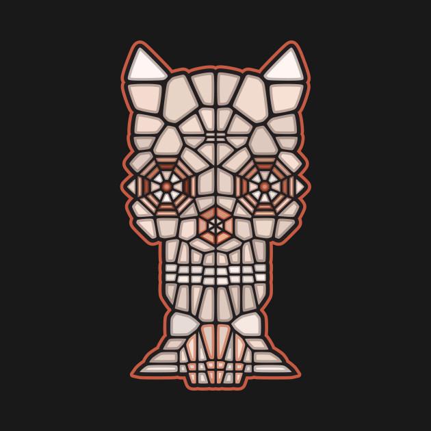 Demon Skull Voronoi