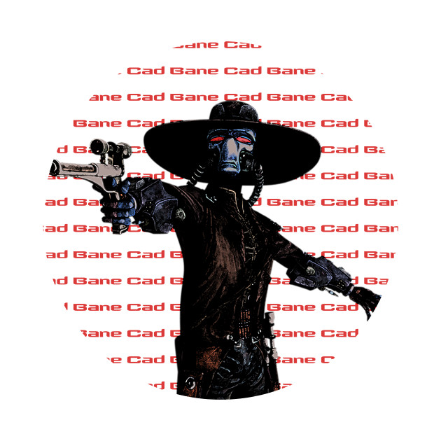 Bounty Hunter Cad Bane The Clone Wars