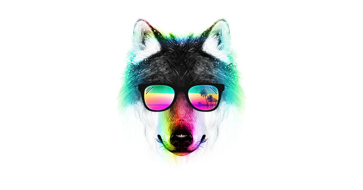fe4316170a54 Summer Wolf T-Shirt