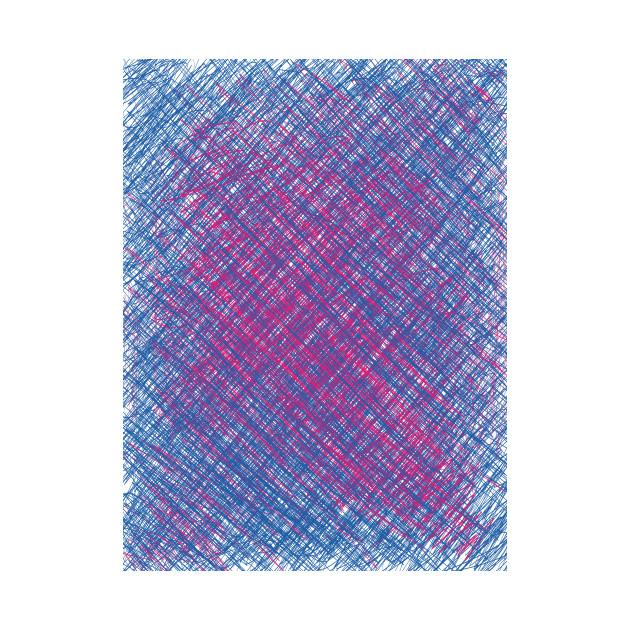 blue-purple scratch