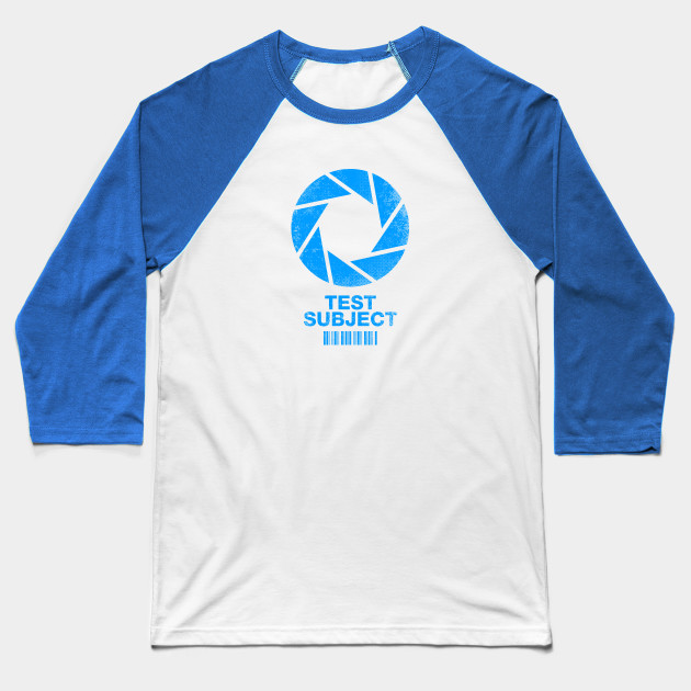 Aperture Science Test Subject -blue-