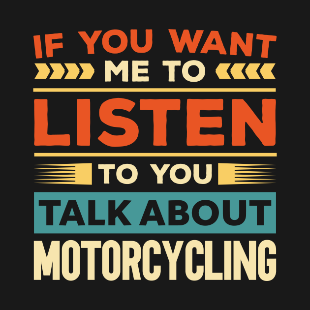 Talk About Motorcycling